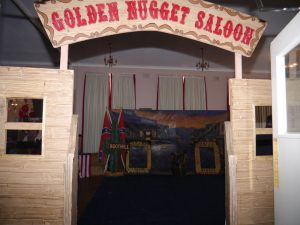 WESTERN THEMED GOLDEN NUGGET SALOON ENTRANCE