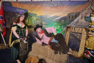 WESTERN THEMED PHOTO SHOOT AREA